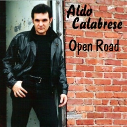 "Aldo Calabrese, ""Open Road"" album cover"